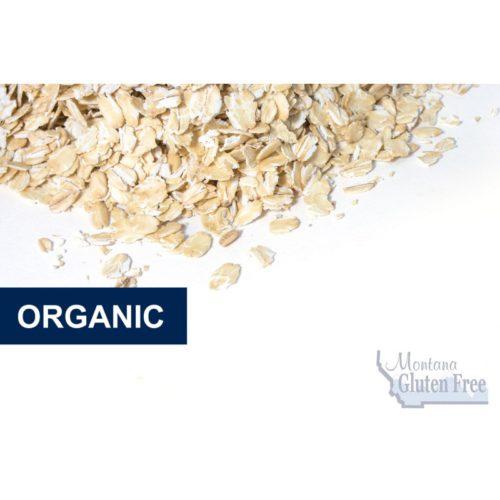 Gluten Free Organic Raw Oatmeal - Case 6 x 3lb