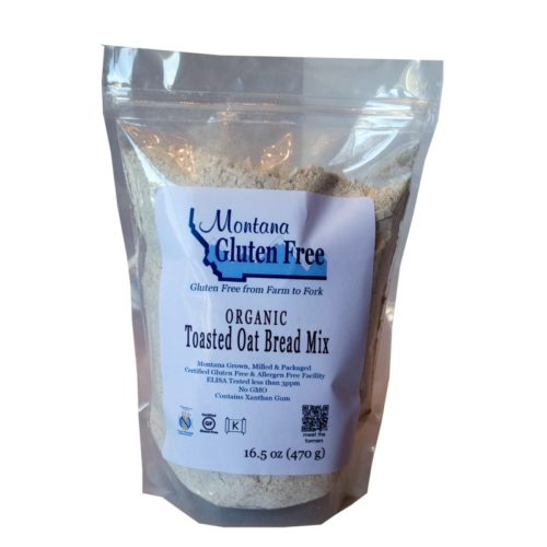 Organic Toasted Oat Bread Mix