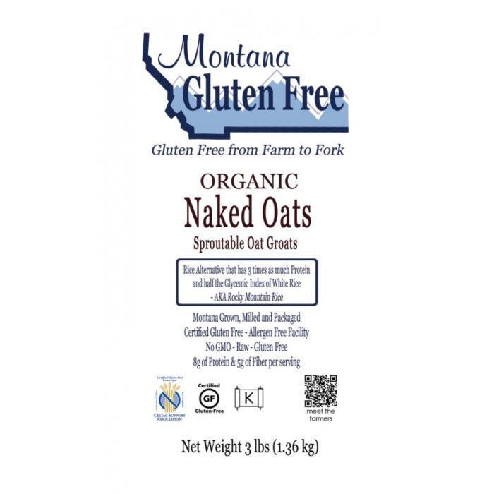 Gluten Free Naked Oats